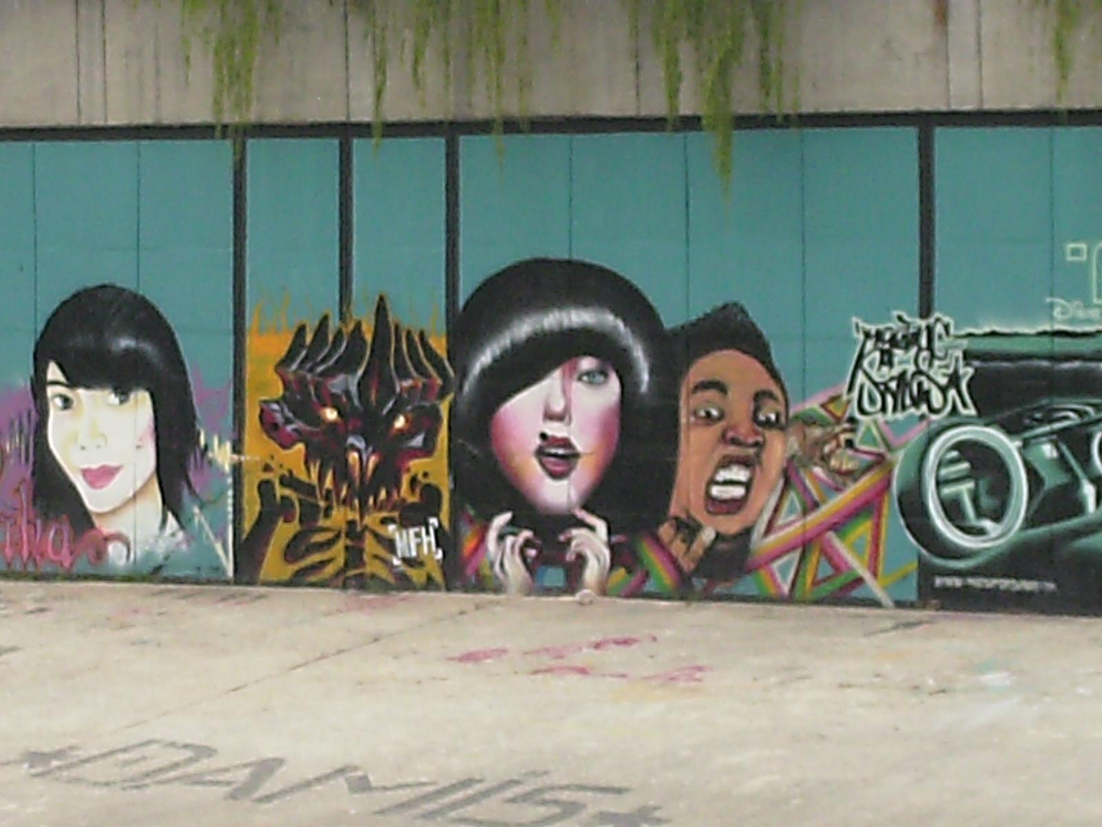 Saggipolaris Creative Art Studio Menghargai Hasil Karya Seni Street Art