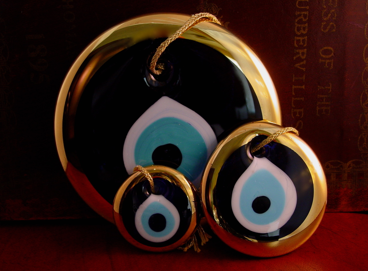 Solymone blog the glass evil eye and good luck chillies - Evil eye pics ...