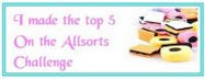 I made the Allsorts Challenge Top 5!