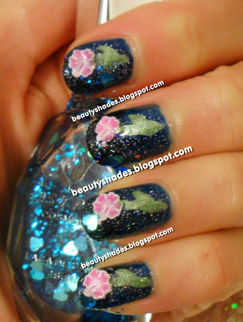 Fimo Flower Nails