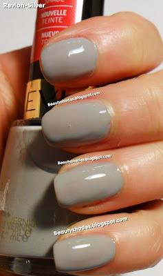 Revlon Silver Swatch