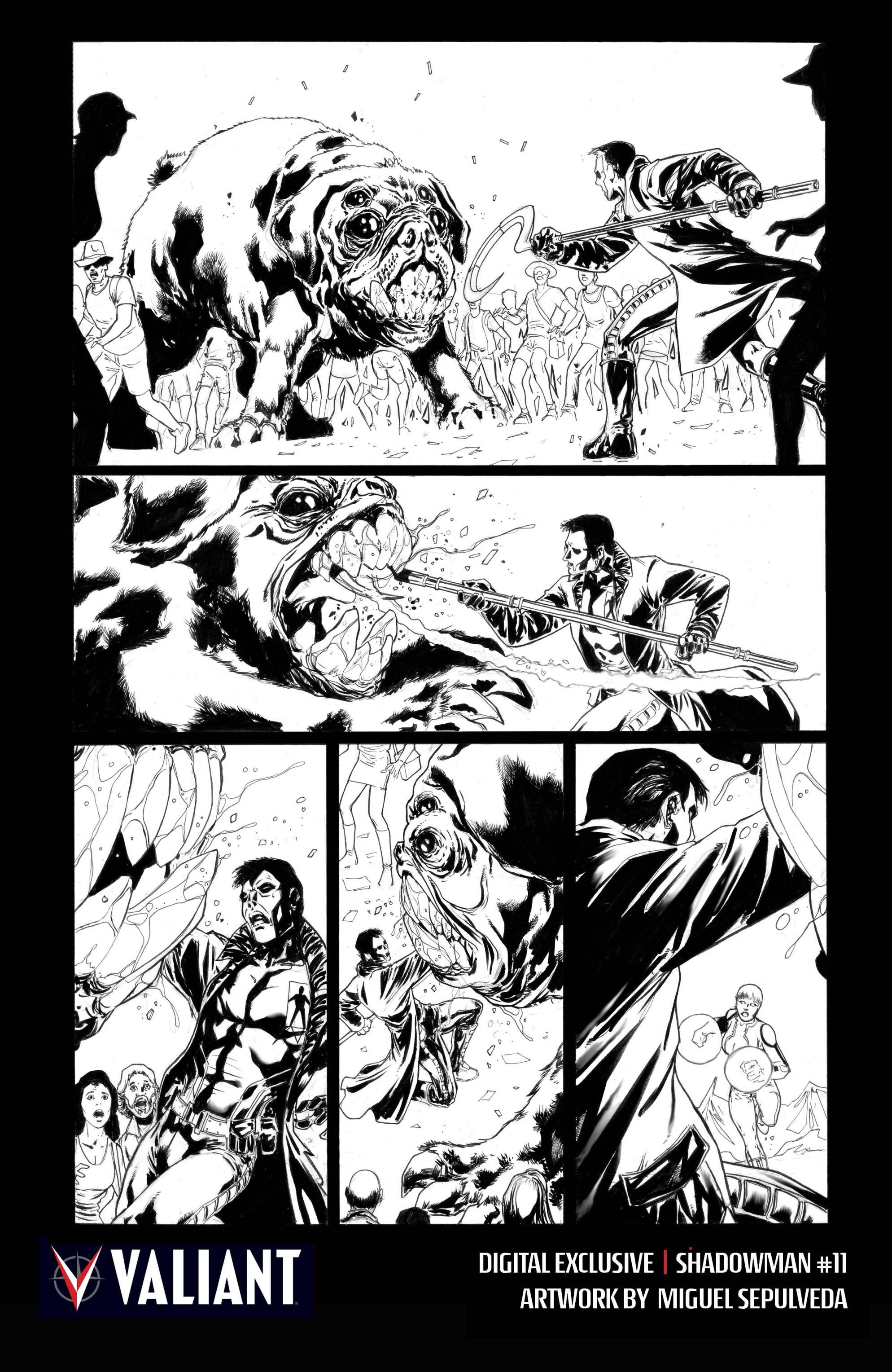 Read online Shadowman (2012) comic -  Issue #11 - 32