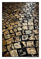 Cobblestones in France