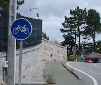 Cycle track in Spain