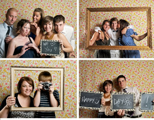 Ideas For Wedding Photo Booth: LovelyGirls Weddings + Events: DIY: Photo Booth Wall