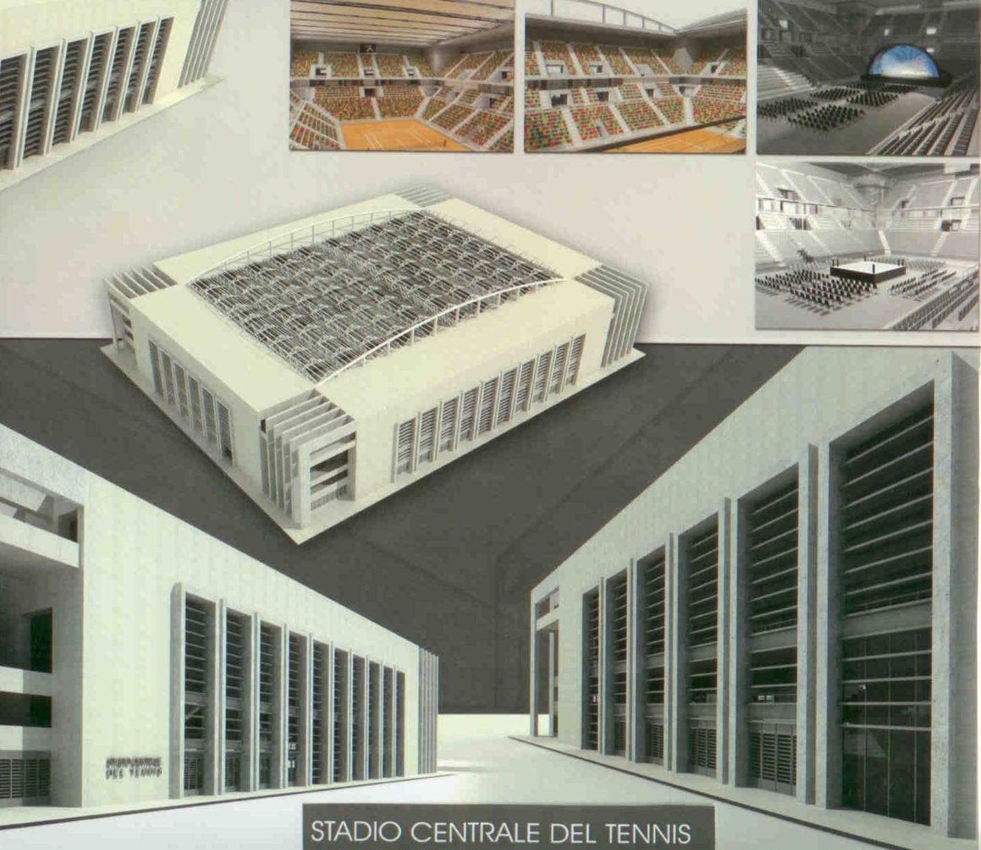 roma stadio centrale del tennis foro italico page 8 skyscrapercity. Black Bedroom Furniture Sets. Home Design Ideas