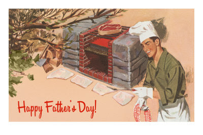 Father's Day vintage image