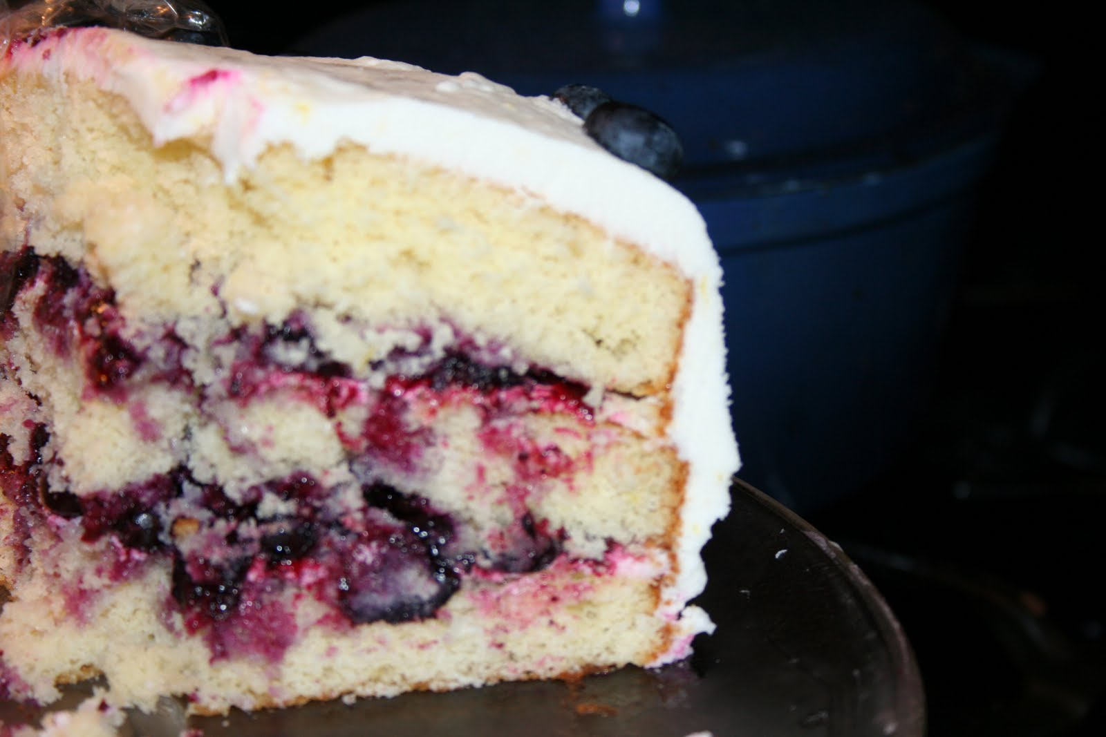 blueberry cake filling gourmet with me lemon cake with blueberry filling 1968