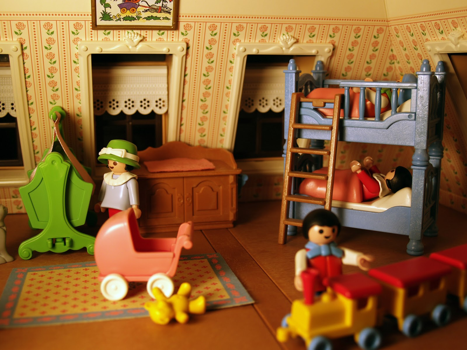 Schlafzimmer Playmobil Pop Circus: Show & Tell: Our Playmobil Victorian Dollhouse
