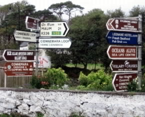 ireland road signs