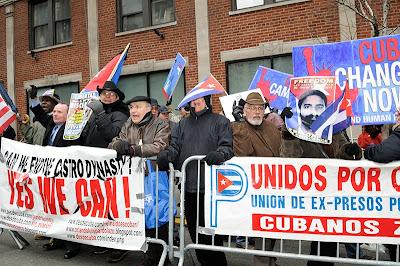 Manifestación en NY