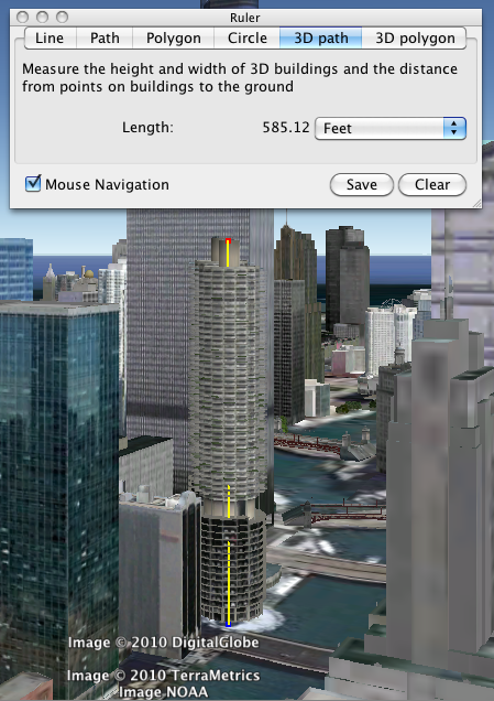 Google Lat Long: Google Earth Pro 6: Measure your world in 3D