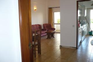 Algarve Ferias Albufeira - Sala e cozinha do Apartamento