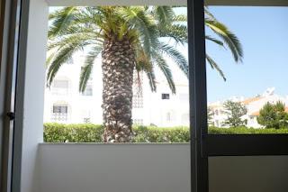 Algarve Ferias Albufeira - Vista da sala do Apartamento