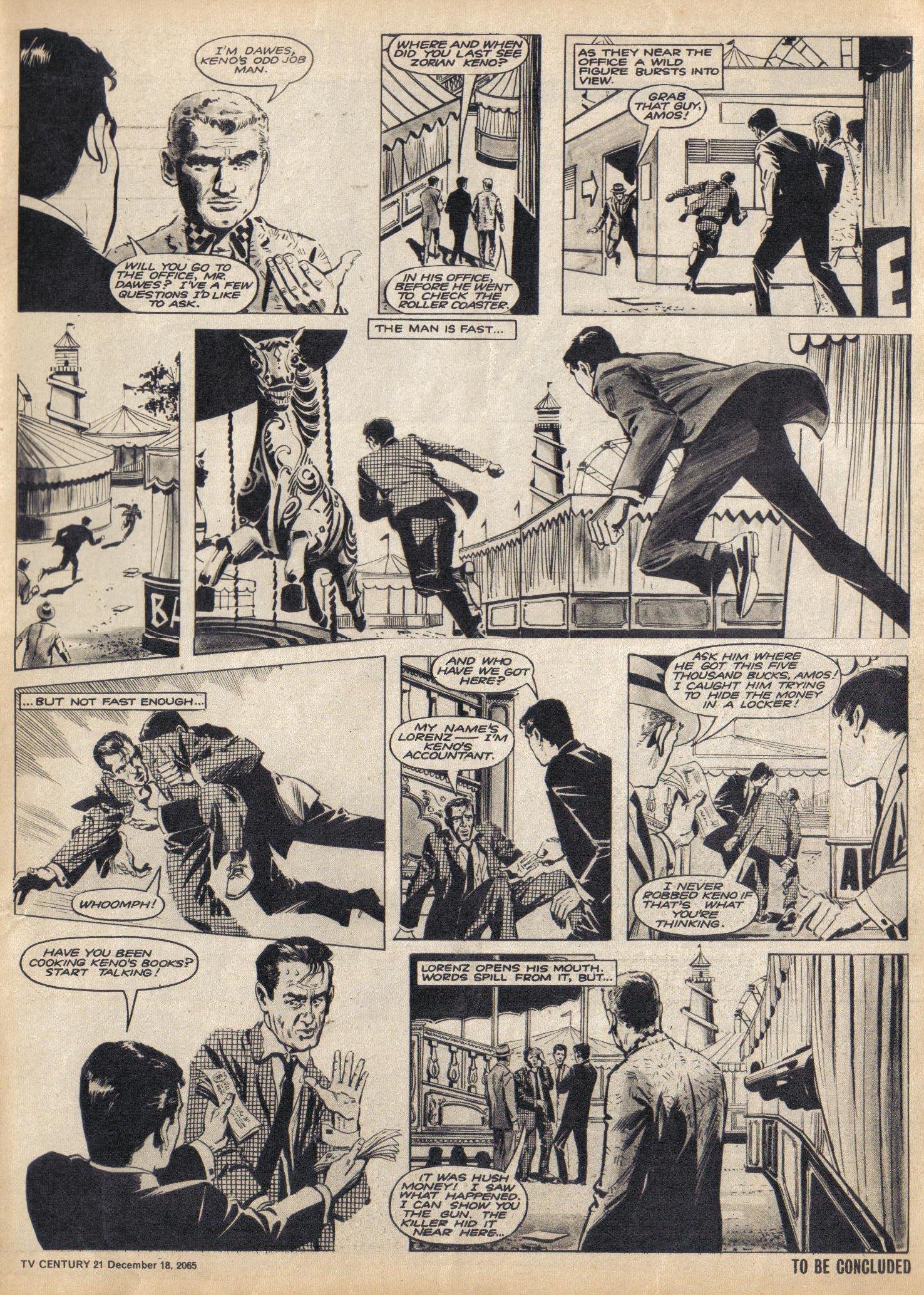 Read online TV Century 21 (TV 21) comic -  Issue #48 - 3
