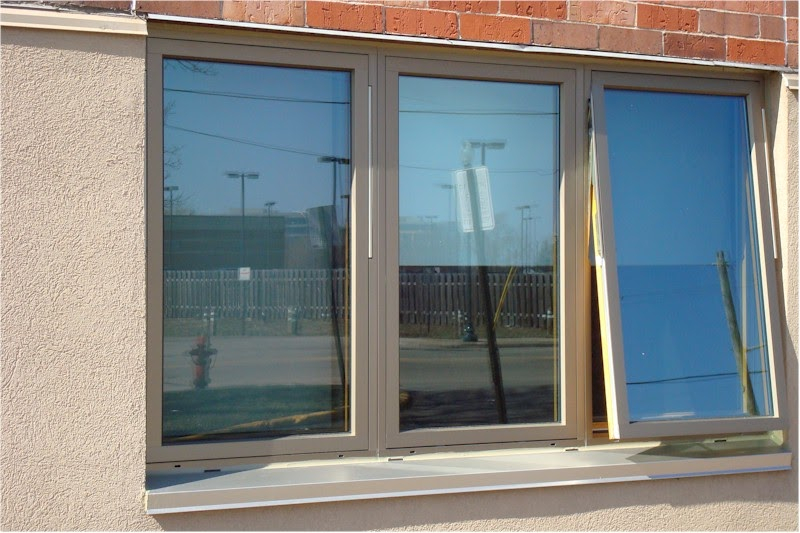The H Window Discussion Room High Performance Aluminum Windows