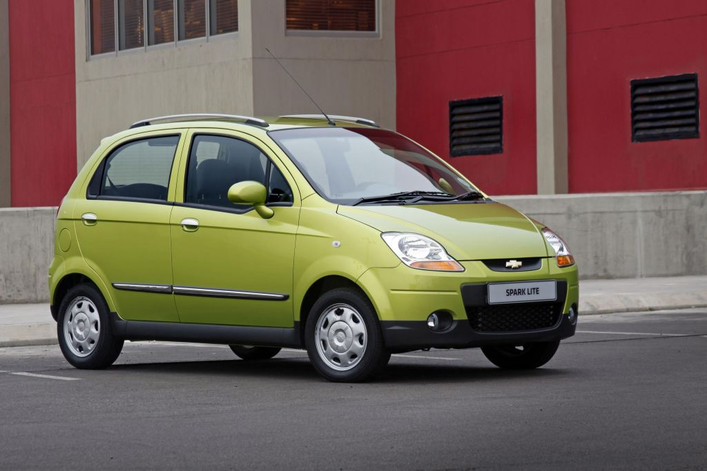 In4ride Old Chevrolet Spark Reincarnated Into Lite