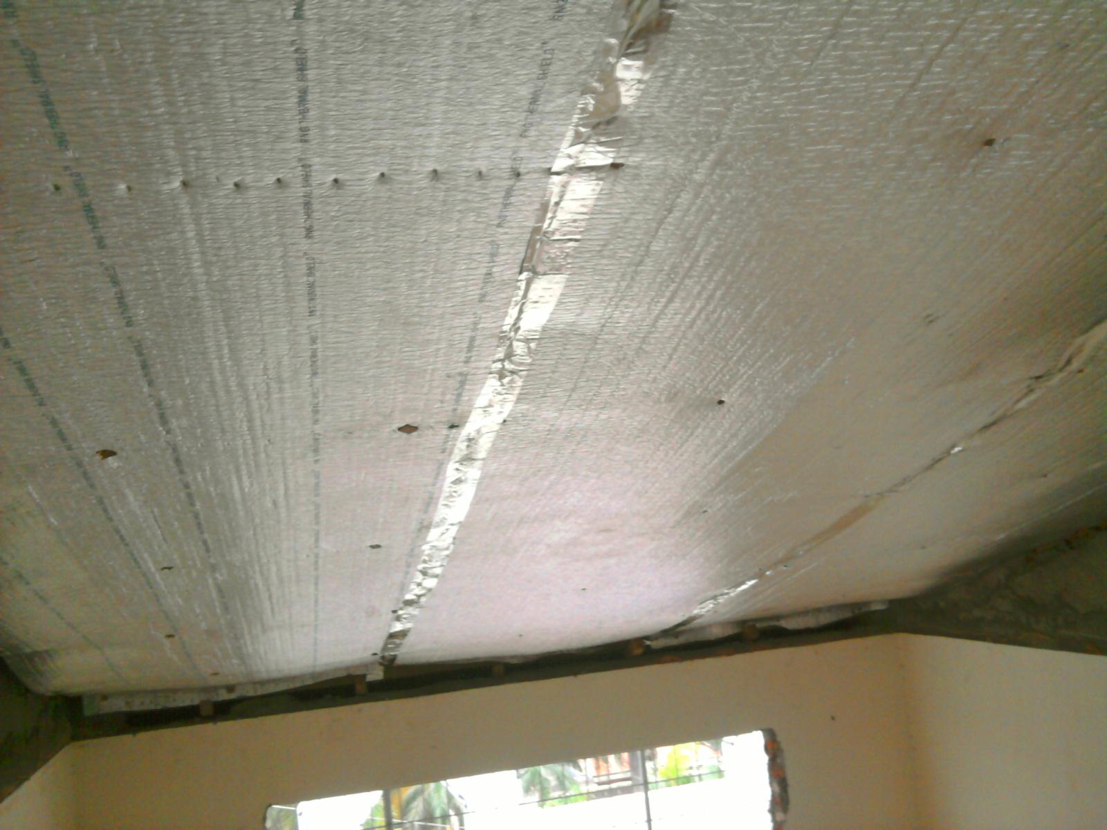 Aluminium Foil Pada Baja Ringan Insulation
