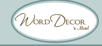 Review And Giveaway Word Decor N More