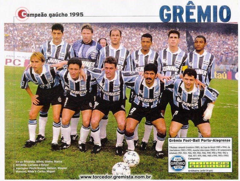 281a0420a9 Fichas dos jogos do Grêmio  13 08 1995 Grêmio 2 x 1 Inter - Gauchão