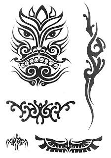 Adinho Tattoo Desenhos Para Tatuagem Tribais