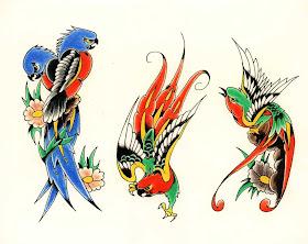 Adinho Tattoo Desenhos Para Tatuagem Pássaros