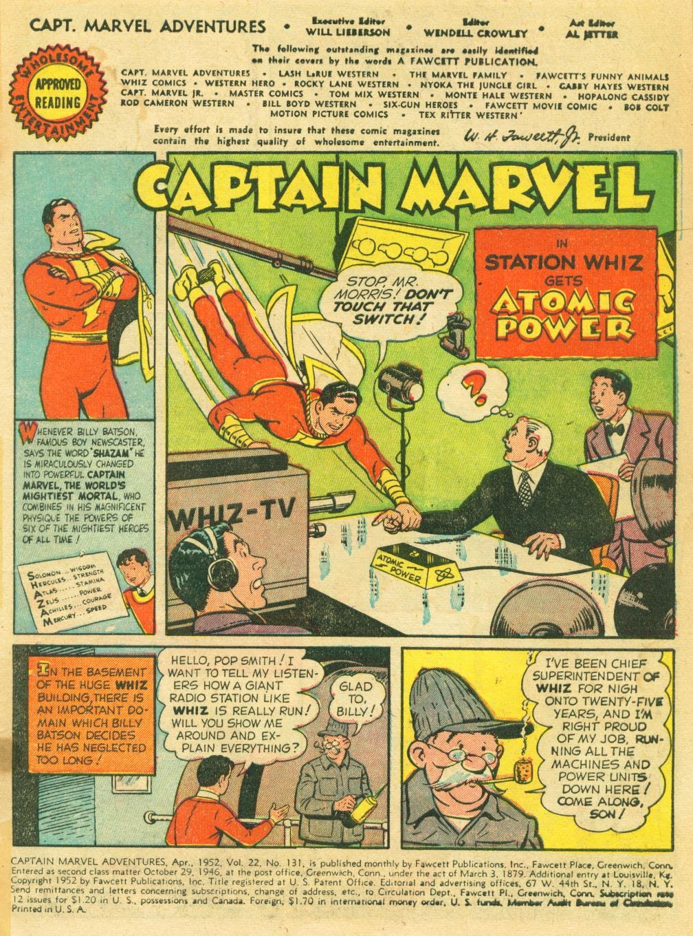 Captain Marvel Adventures issue 131 - Page 3