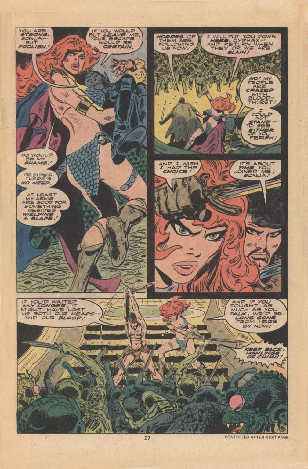 Red Sonja (1977) issue 4 - Page 16