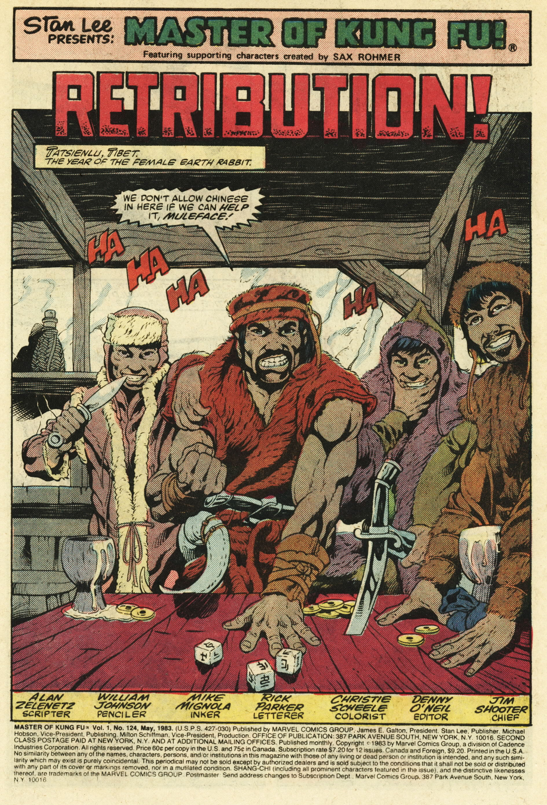 Read online Master of Kung Fu (1974) comic -  Issue #124 - 2