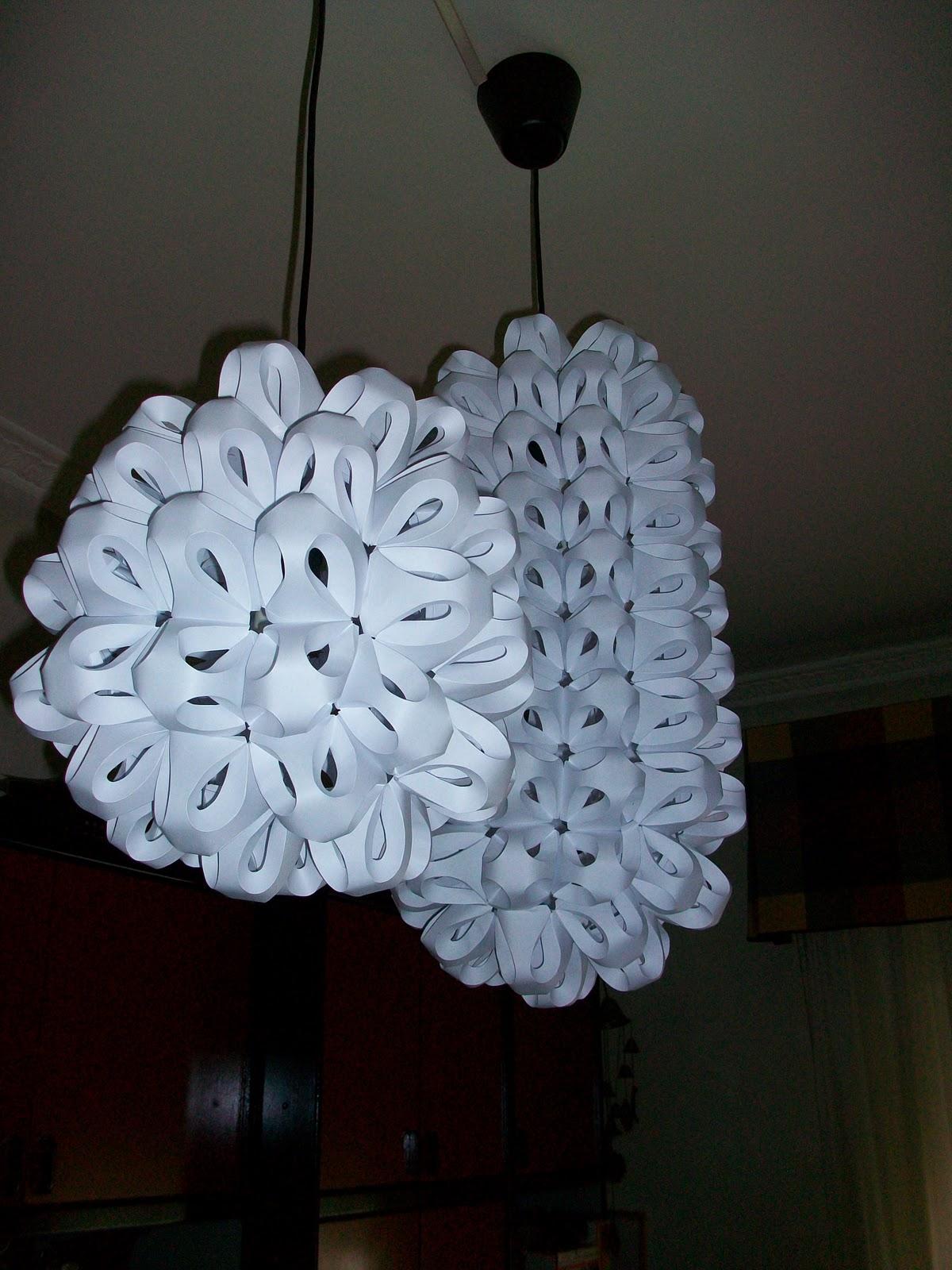 Manualidades lamparas de techo - Lamparas de techo de papel ...