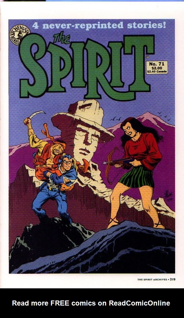 Read online Will Eisner's The Spirit Archives comic -  Issue # TPB 26 (Part 3) - 26