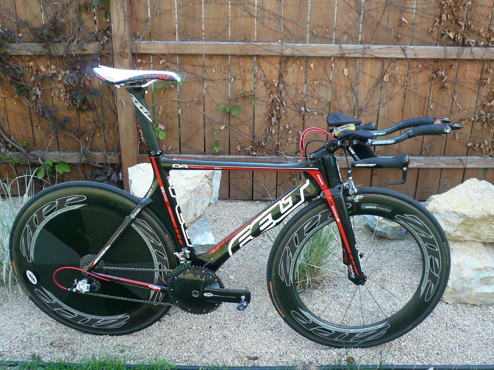 Thompson Tri: 2010 Felt DA Triathlon Bike