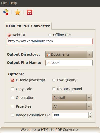 PDF TO HTML UBUNTU EPUB