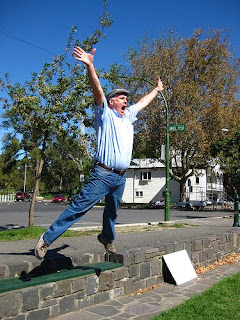 Jump for Joy. Photo by Dale Gillard http://www.flickr.com/photos/dalegillard/3408525071/