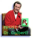 DOCTOR Stephen Colbert!