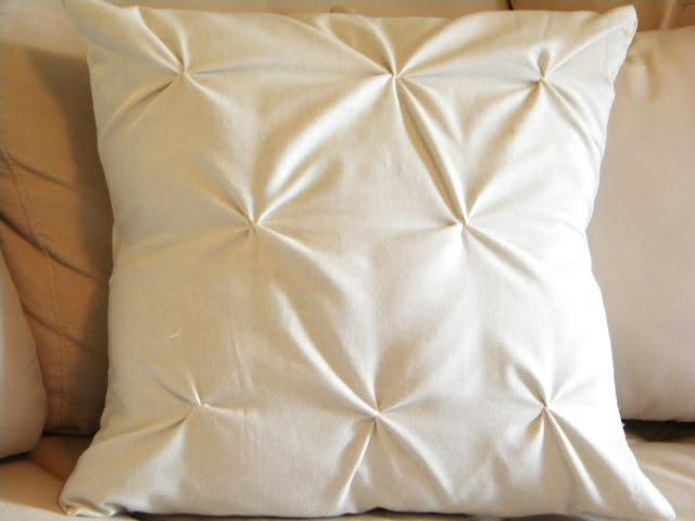 DIY褶皱枕
