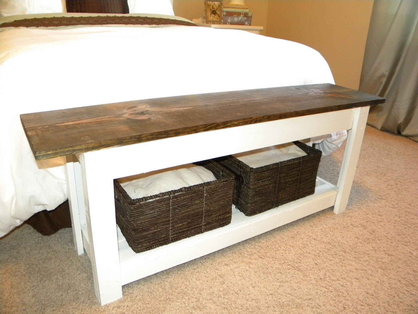 Bedroom Bench Table Thrifty And Chic Diy Projects And Home Decor