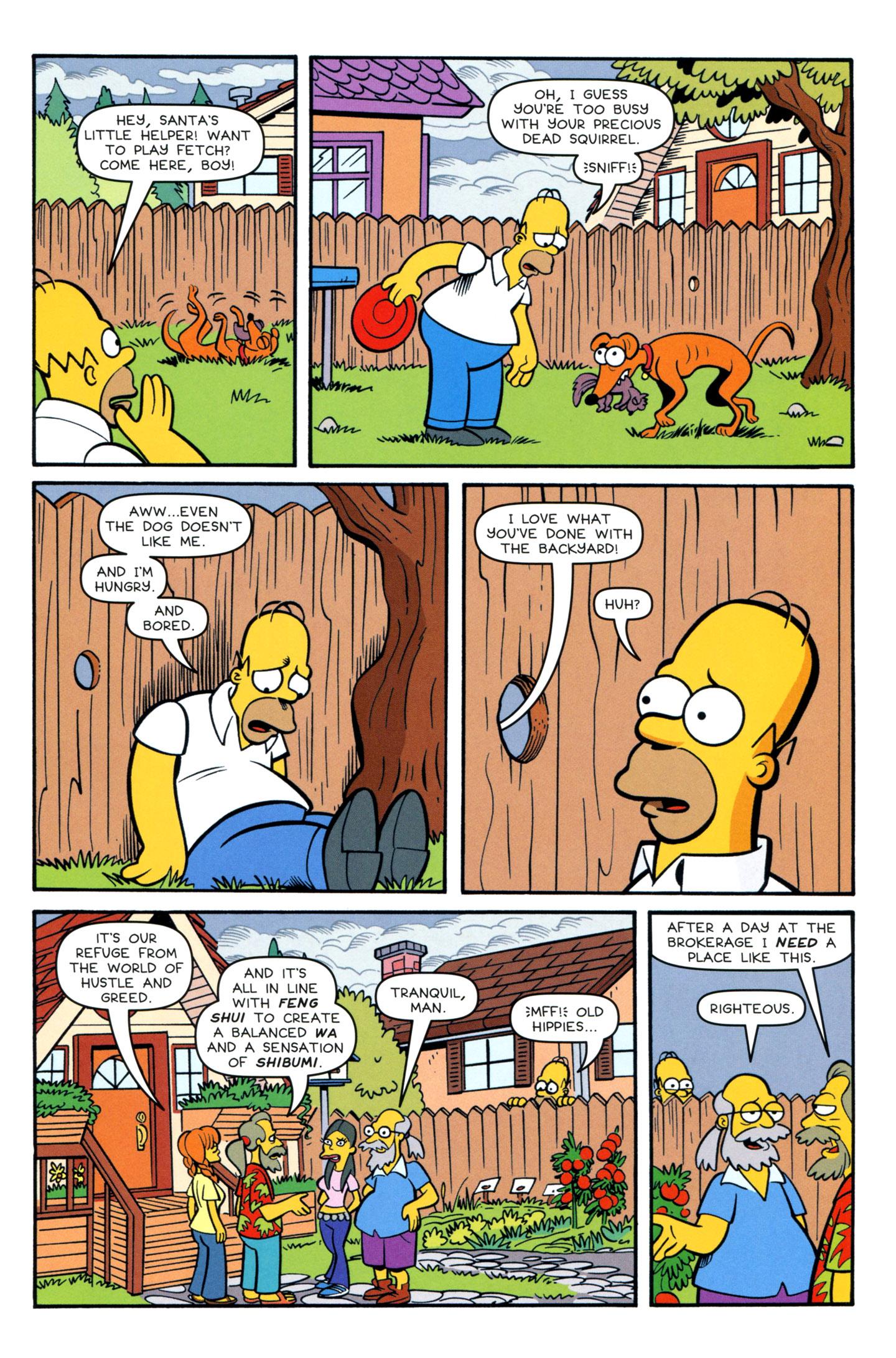 Read online Simpsons Comics comic -  Issue #195 - 5