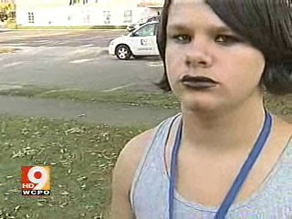A Mother Of 13 Year Old Goth Boy Is Threatening To Take His School Court If