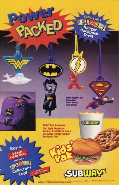 Superman Subway Superman Premiums