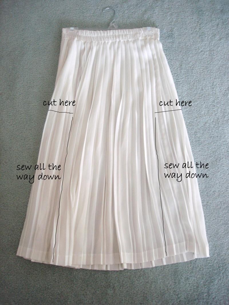 2d6183242 DIY pleated dress