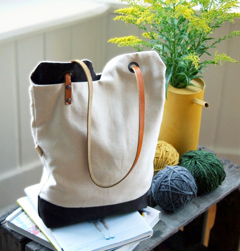 Covet Collective Canvas And Leather Bags