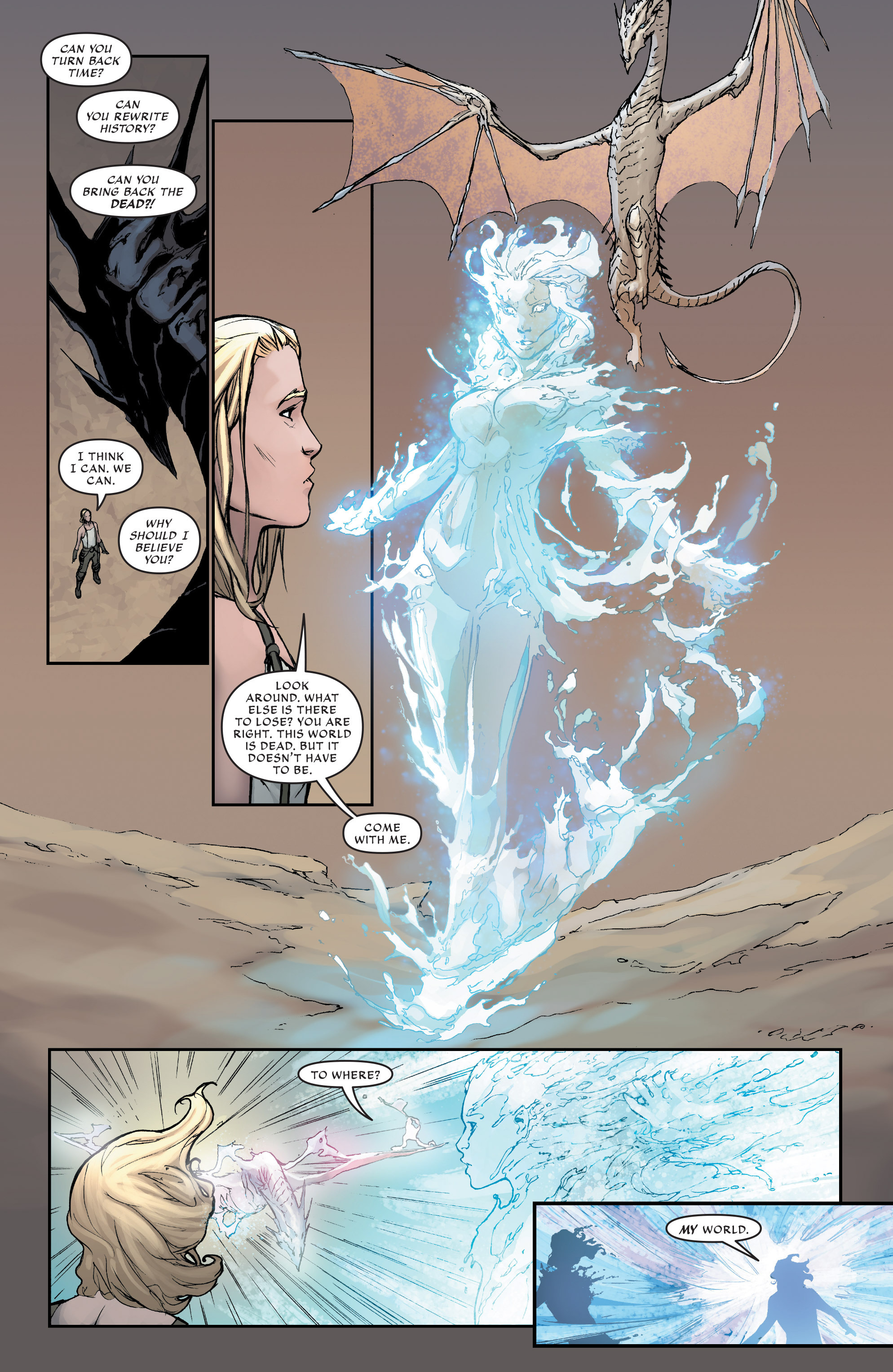 Read online Aspen Universe: Revelations comic -  Issue #1 - 20