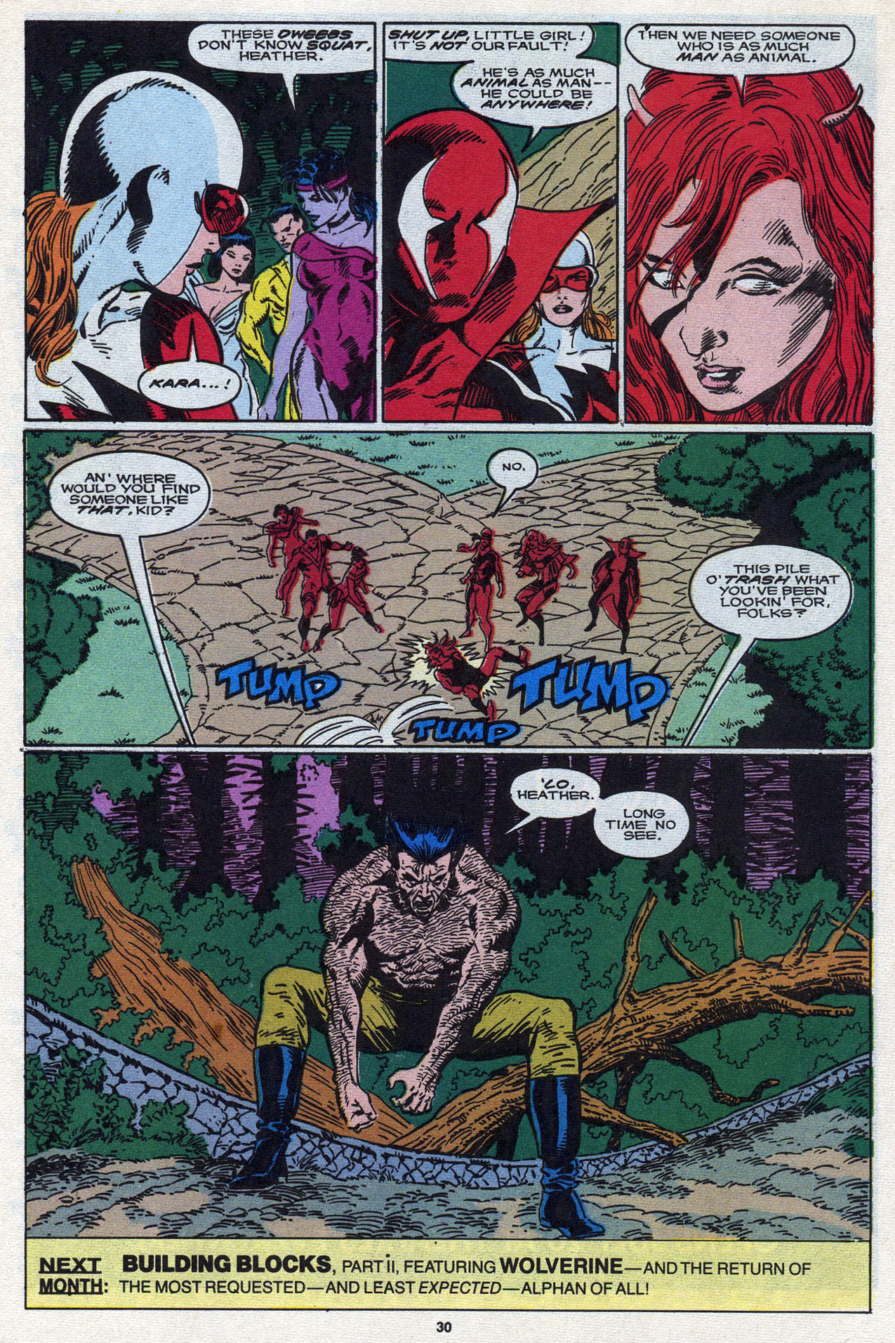 Read online Alpha Flight (1983) comic -  Issue #87 - 31