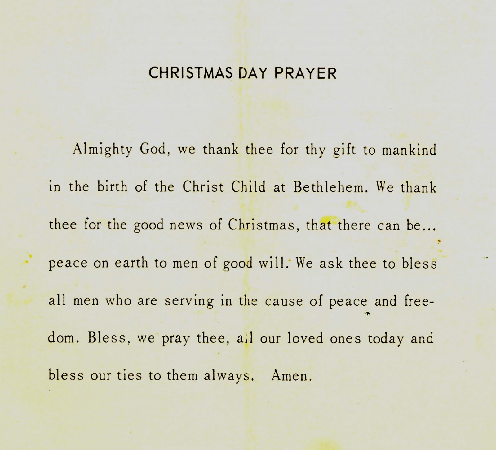 Christmas Dinner Prayer.The Museum Of The San Fernando Valley A Vietnam Christmas
