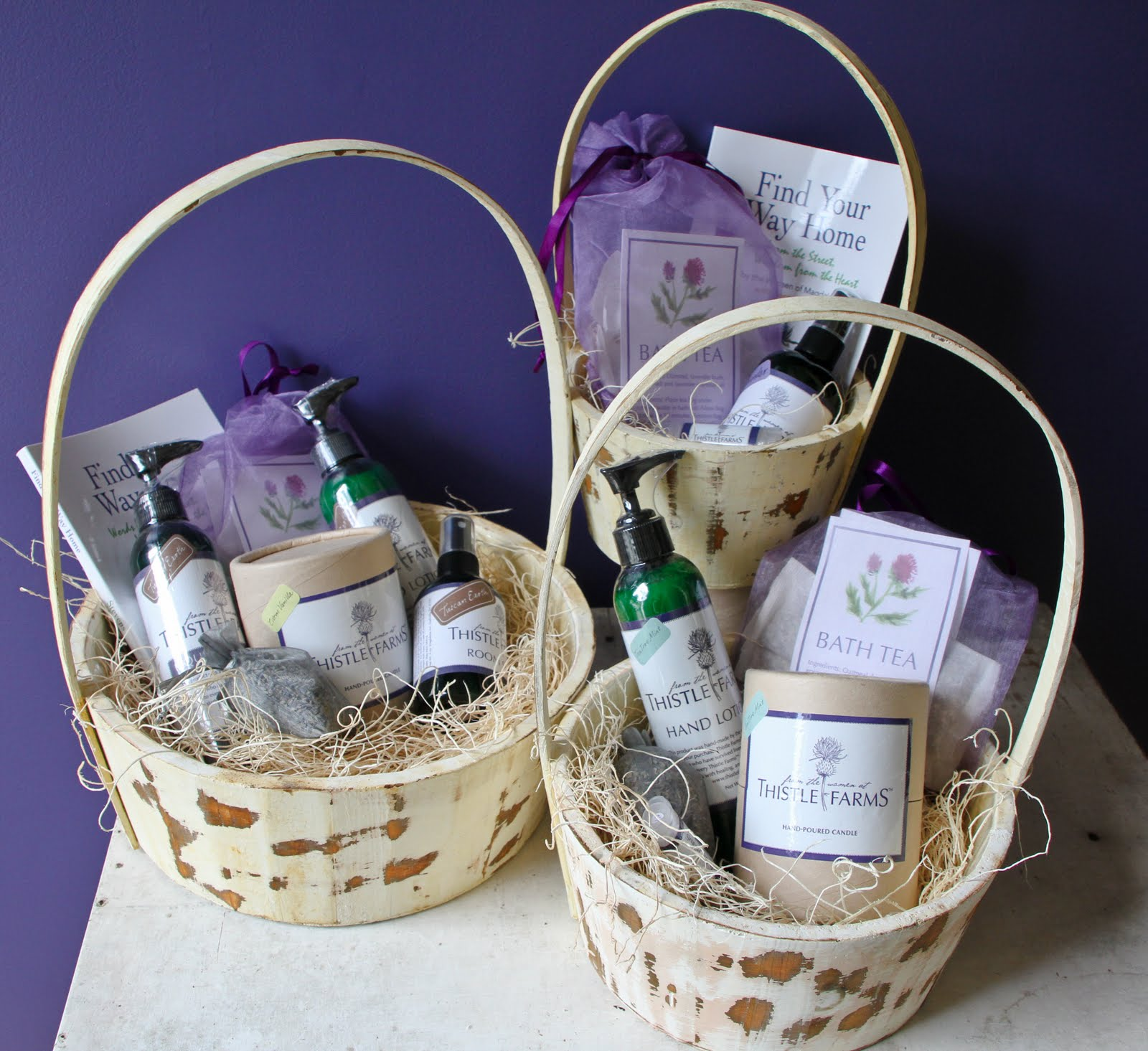 Wedding Party Gift Baskets: The Voices Of Thistle Farms: Have A Thistle Farms Wedding