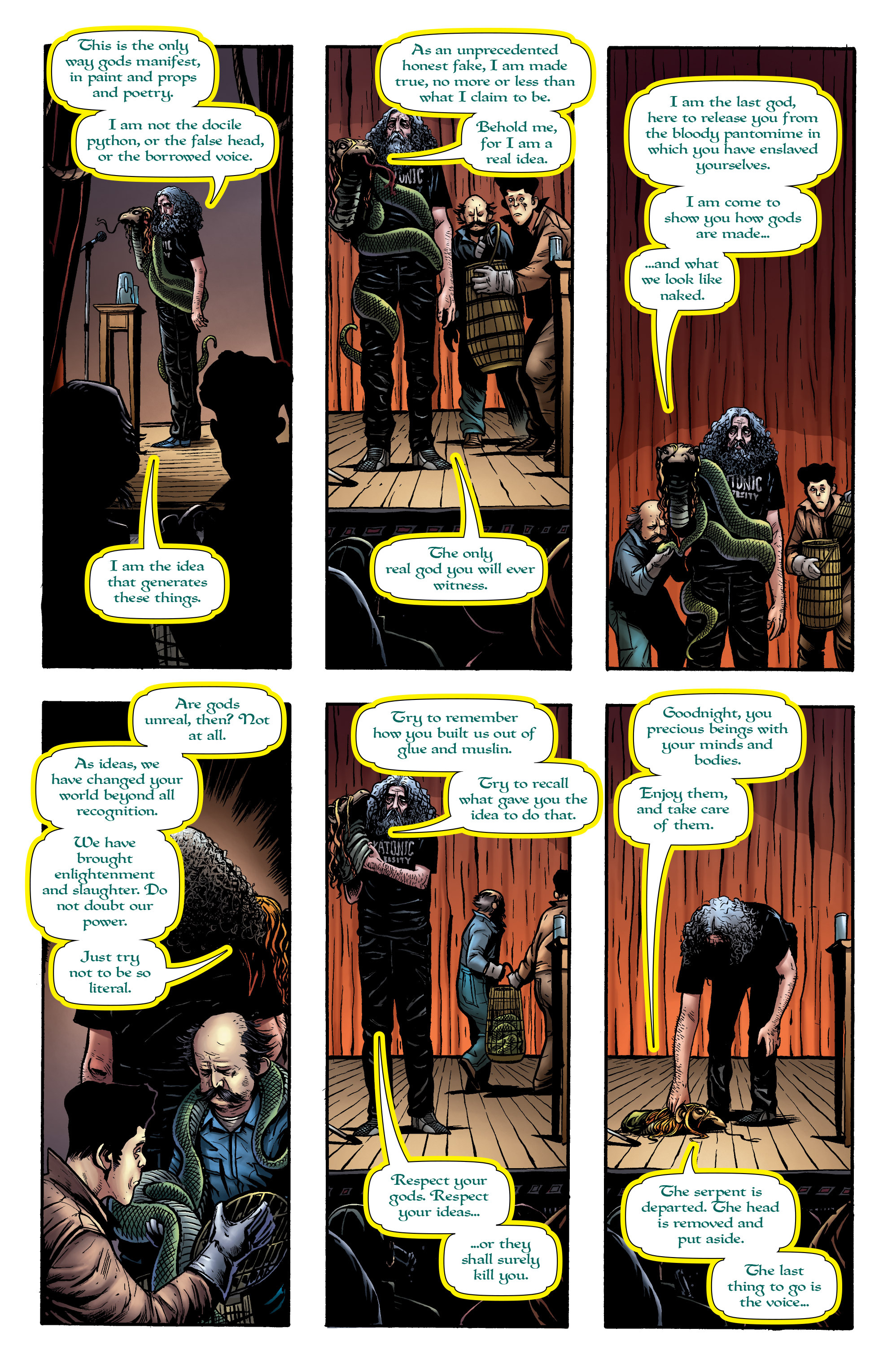 Read online God is Dead: Book of Acts comic -  Issue # Alpha - 35