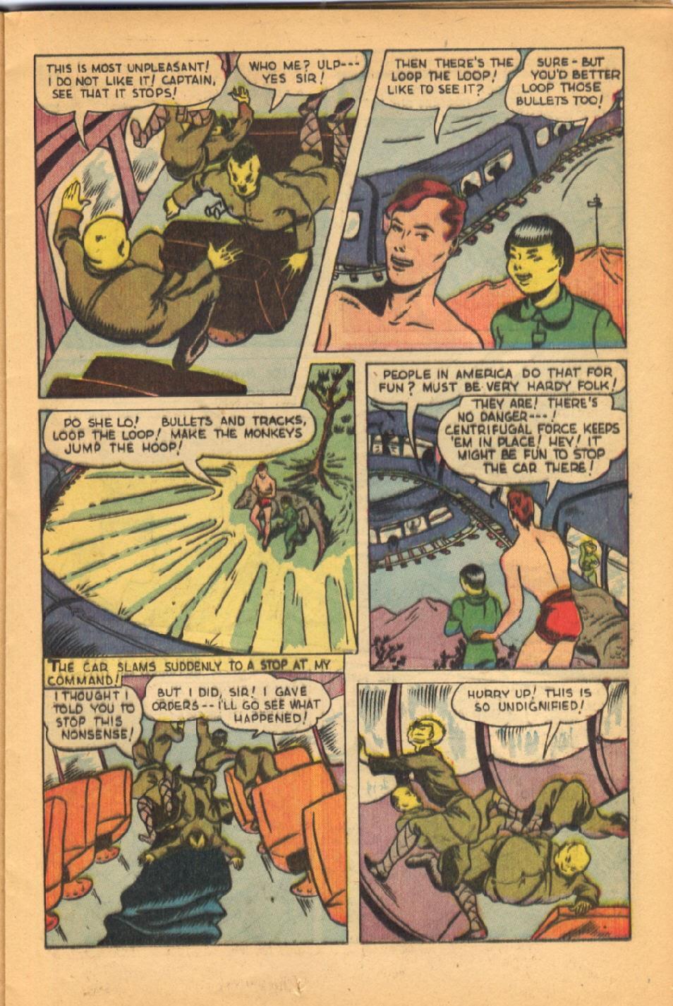 Read online Super-Magician Comics comic -  Issue #38 - 23