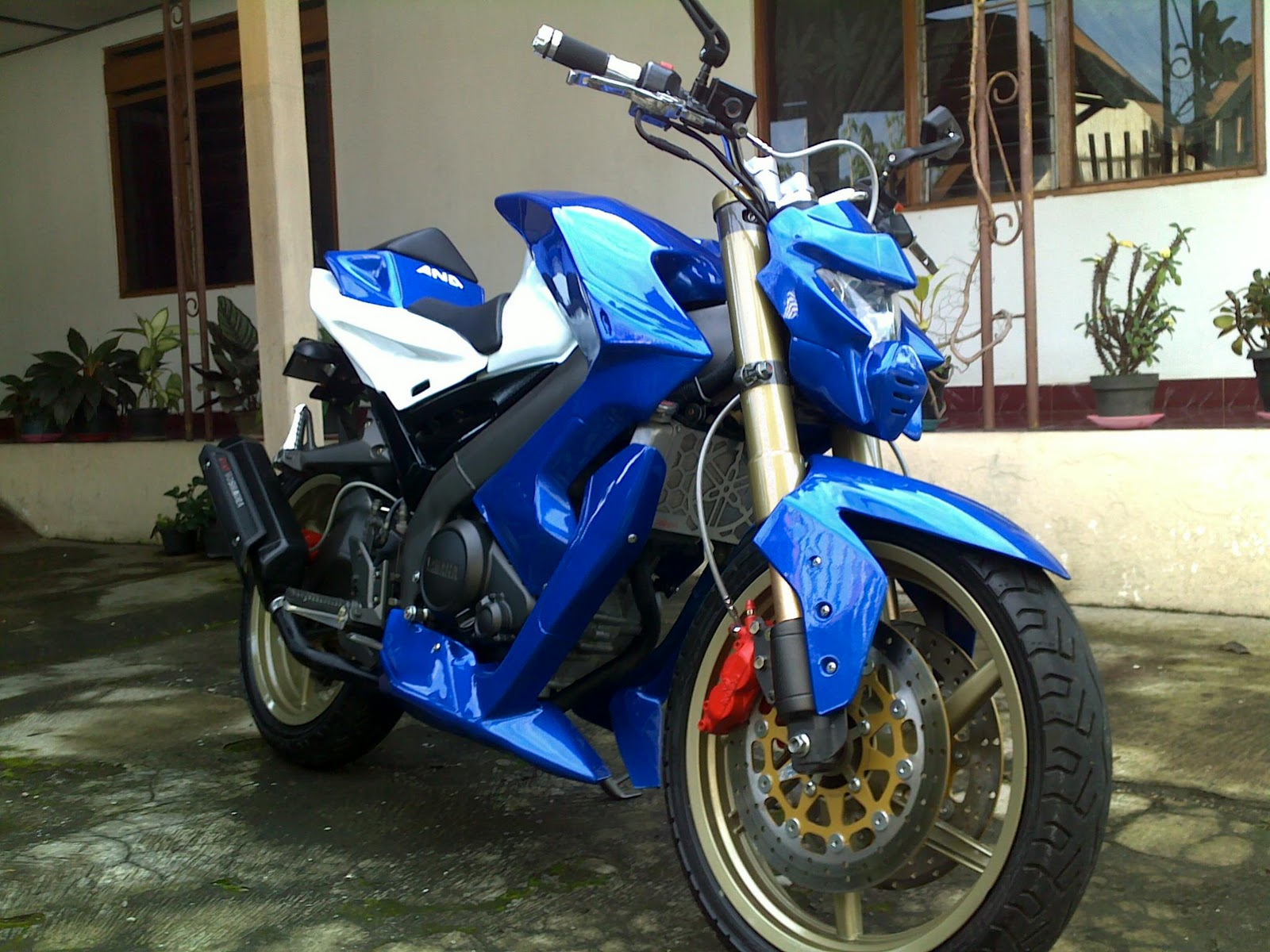 AND MODIFIKASI SYNDICATE: VIXION MINOR FIGHTER BY AND
