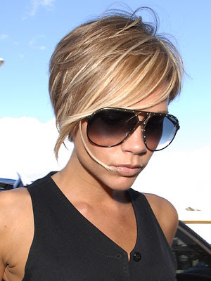 2011 haircuts Posh Spice, Best Trends Hairstyle: Celebrity Short Haircuts